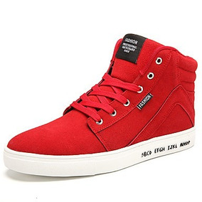 Hombre-tacón Plano-confort-zapatillas De Deporte