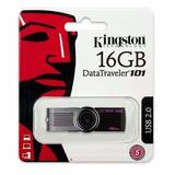 Pendrive 16gb Kingston Pen Drive Datatraveler Garantia