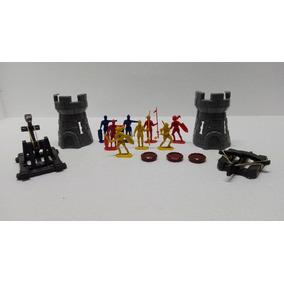 Guerreros Medievales Castillos Y Accesorios Juguete Bootleg