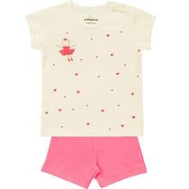 Pijama Blusa Shorts Bailarina Dedeka