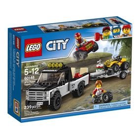 Lego® City Todoterreno Del Equipo De Carreras (60148)