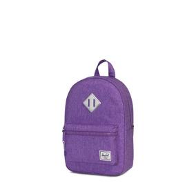 Mochila Herschel Supply Heritage Kids Deep Lavender Crosshat