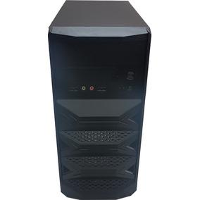 Pc Core 2 Duo 4gb Hd250 C/ Monitor Lg 17