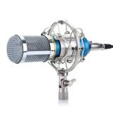 Micrófono Condensador Excelvan De Grabación Con Soporte