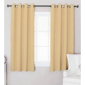Cortinas cortas cortinas convencionales en mercado libre for Cortinas cortas