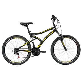 Bicicleta Caloi Andes Aro 26 C/ Suspensão Dianteira - Preta