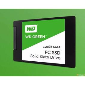 Ssd 240gb Wd Green 540mb/s Sata 3 2,5 6gb/s
