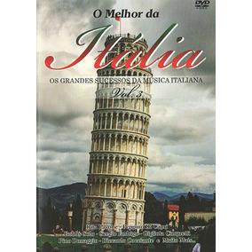 Dvd Melhor Itália Vol. 3 = 30 Sucessos Da Musica Italiana