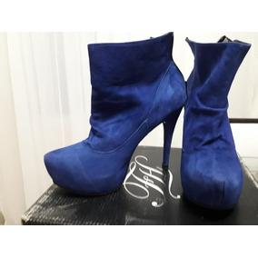 Zapatos Botineta Mujer