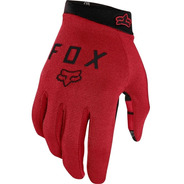 Guantes Fox Ranger Gel Rojo/car Ciclismo Mountain Bike Mtb