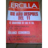 Ercilla La Tercera Ultimas Noticias 11 Septiembre 1973 1 Año