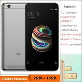 Xiaomi Redmi 5a Gris 4g Lte + Funda + Mica Oferta Arequipa
