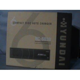 Disqueteira 6 Discos Hyundai Hc 6030 Nova Na Caixa.