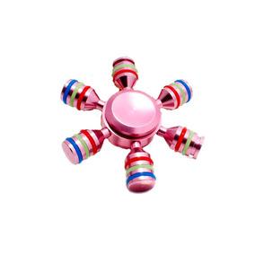 Fidget Hand Spinner Hexagonal Antiestres Juguete Giggle