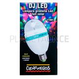Lampara Giratoria Led Full Color Dj E1001 Bajo Consumo
