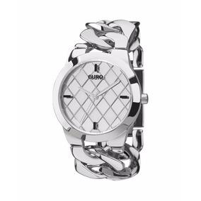 Relógio Euro Feminino Prata Bracelets - Eu2033al/3k