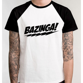 Camiseta Raglan Camisa Blusa Unissex Promo Filme Bazinga