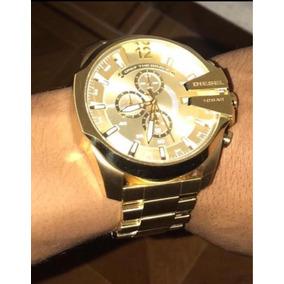 Reloj Diesel Dorado Original