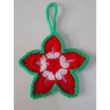 Adornos Navideños: Estrellas 7-8 Cms. Tejidas A Crochet