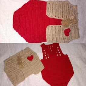 Conjunto Roupa De Bebês Em Crochê