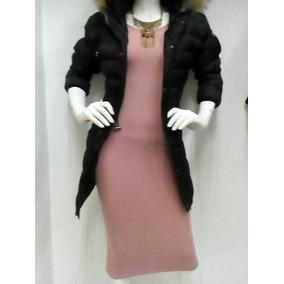 Vestido En Color Rosa Palo Largo De Dama Firho