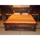 Muebles Rusticos Cama Comedor -3203901172/6810011- Maciza