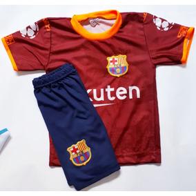 2f5200b6f3 Uniforme Infantil Do Barcelona Do Messi - Calçados