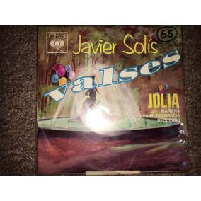 Disco Acetato 45 Rpm: Javier Solis - Valses