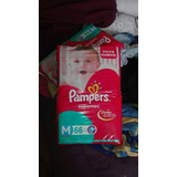 66 Pañales Pampers Talle M. Cada Uno