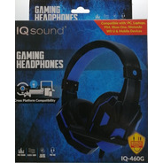 Headset Gaming Headphone Blue- Supersonic 460g