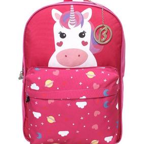 Mochila Bolsa Escolar Unicornio Birô Frete Gratis