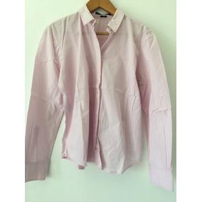 Camisa Entallada De Algodón En Rosa Kevingston