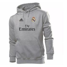 c0d537389f Conjunto De Time Real Madrid Frio - Moletom Prateado no Mercado ...