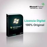 Licencia Autentica Windows 7 Ultimate 32/64 Bits 1pc Factura