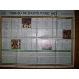 Poster Fixture Torneo Metropolitano 1973 (042)