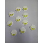 100 Pz Válvula Filtro Respirador De Tapabocas Kn95 Y N95