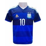 Camisa Seleção Da Argentina Azul Messi Jogo 2014