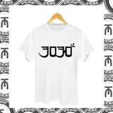 Camiseta 3030 - Hip Hop - Rap - Rap Nacional - Banda 3030
