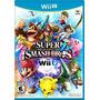 Super Smash Bros Wii U Disco Nuevo Y Sellado Somos Tienda