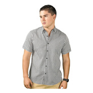 Camisa Manga Corta Cuadritos Disponible En 3 Colores