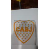 Escudo Boca Juniors 71 Cm X 60 Cm Vinilo C Autoadhesivo