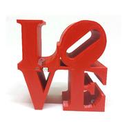 Love - Palavra Decorativa De Mesa