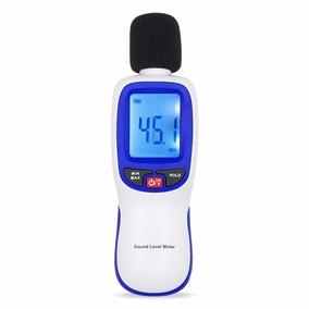 Decibelimetro Com Microfone Preciso 130db Medicao Som Ruido