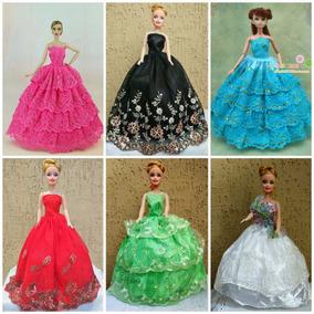 Vestido Festa Roupinhas Para Boneca Barbie Menor Preço