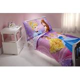Niño De 4 Piezas De Disney Set Princesa Vestido De Brillo