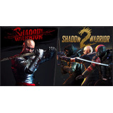 Shadow Warrior 1 + 2 Pc - Codigos Steam