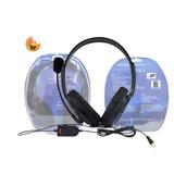 Audífono Diadema Ps4 Y Pc Con Micrófono Y Control De Volumen