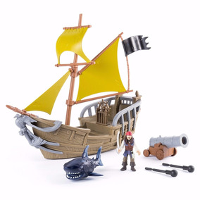 Piratas Do Caribe Navio Jack Sparrow Playset Disney - Sunny