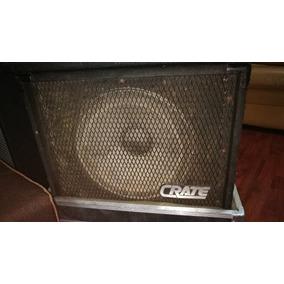 Caja Acústica De Bajo Americana 100% Crate 1x15 200 Watts