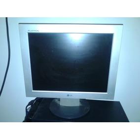 Monitor Lg Flatron 15 Pulgadas Usado Lcd Funcionando L1530s